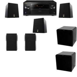 M&K Sound S150II Loudspeaker 5.2 HRS12 Pioneer Elite SC-89