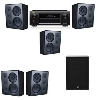 M&K Sound MP300 Monitor Speaker 5.1 X12 Denon AVR-X5200W