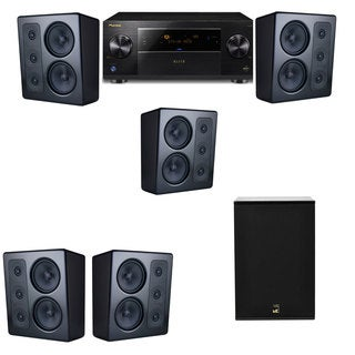 M&K Sound MP300 Monitor Speaker 5.1 X12 Pioneer Elite SC-89