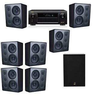 M&K Sound MP300 Monitor Speaker 7.1 X12 Denon AVR-X5200W