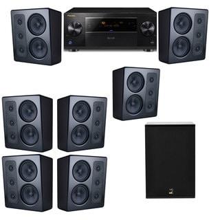 M&K Sound MP300 Monitor Speaker 7.1 X12 Pioneer Elite SC-89