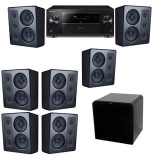 M&K Sound MP300 Monitor Speaker 7.1 HRS12 Pioneer Elite SC-89