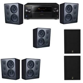 M&K Sound MP300 Monitor Speaker 5.2 X12 Pioneer Elite SC-89