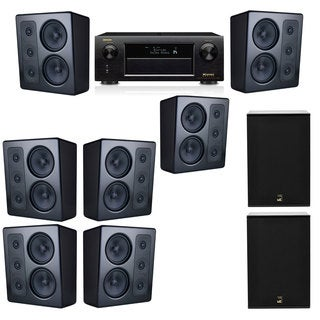 M&K Sound MP300 Monitor Speaker 7.2 X12 Denon AVR-X5200W