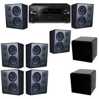 M&K Sound MP300 Monitor Speaker 7.2 HRS12 Pioneer Elite SC-89