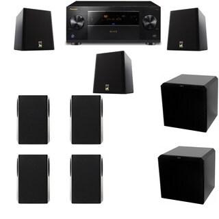 M&K Sound S150II Loudspeaker 7.2 HRS12 Pioneer Elite SC-89