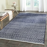 Safavieh Hand-Tufted Boston Navy Cotton Rug - 8' x 10'