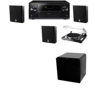M&K Sound MP150II Wall Speaker 3.1 Thorens TD-240- HRS12 Pioneer Elite SC-89