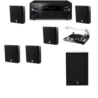 M&K Sound MP150II Wall Speaker 5.1 Thorens TD-240-2 X12 Pioneer Elite SC-89