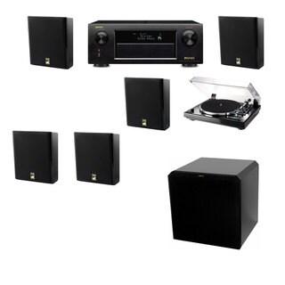 M&K Sound MP150II Wall Speaker 5.1 Thorens TD-240-2 HRS12 Denon AVR-X5200W