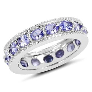 ring wexford rings wedding tea t silver signature jewelers set rose tanzanite
