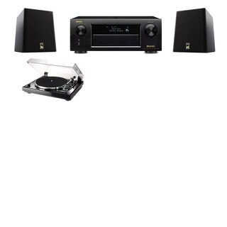 M&K Sound S150II Loudspeaker 2.0 Thorens TD-240-2 Denon AVR-X5200W