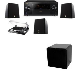 M&K Sound S150II Loudspeaker 3.1 Thorens TD-240-2 HRS12 Pioneer Elite SC-89