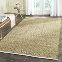 Safavieh Hand-Tufted Boston Olive Cotton Rug - 8' x 10'