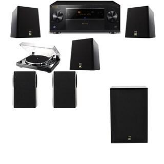 M&K Sound S150II Loudspeaker 5.1 Thorens TD-240-2 X12 Pioneer Elite SC-89