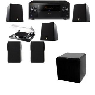 M&K Sound S150II Loudspeaker 5.1 Thorens TD-240-2 HRS12 Pioneer Elite SC-89
