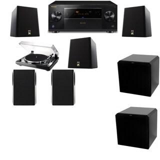 M&K Sound S150II Loudspeaker 5.2 Thorens TD-240-2 HRS12 Pioneer Elite SC-89