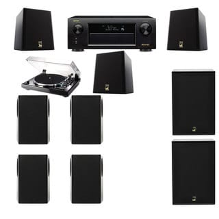 M&K Sound S150II Loudspeaker 7.2 Thorens TD-240-2 X12 Denon AVR-X5200W