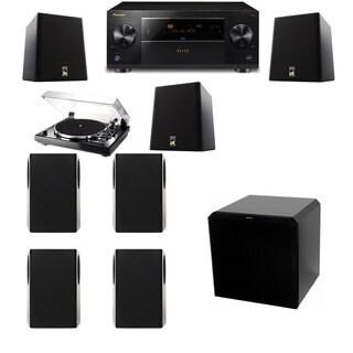 M&K Sound S150II Loudspeaker 7.1 Thorens TD-240-2 HRS12 Pioneer Elite SC-89