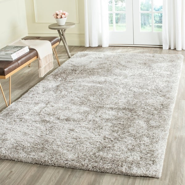 Safavieh Handmade South Beach Ice Polyester Rug - 8' x 10'