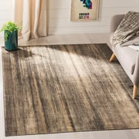 Safavieh Vintage Soft Anthracite Abstract Distressed Silky Viscose Rug - 5'3 x 7'6