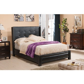 K & B Queen Upholstered Bed