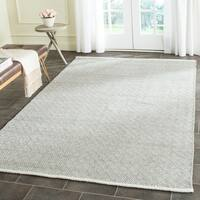 Safavieh Hand-Tufted Boston Grey Cotton Rug (4' x 6')