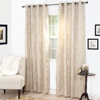 Windsor Home Dinah Jacquard Curtain Panel - 53 x 84 (2 options available)