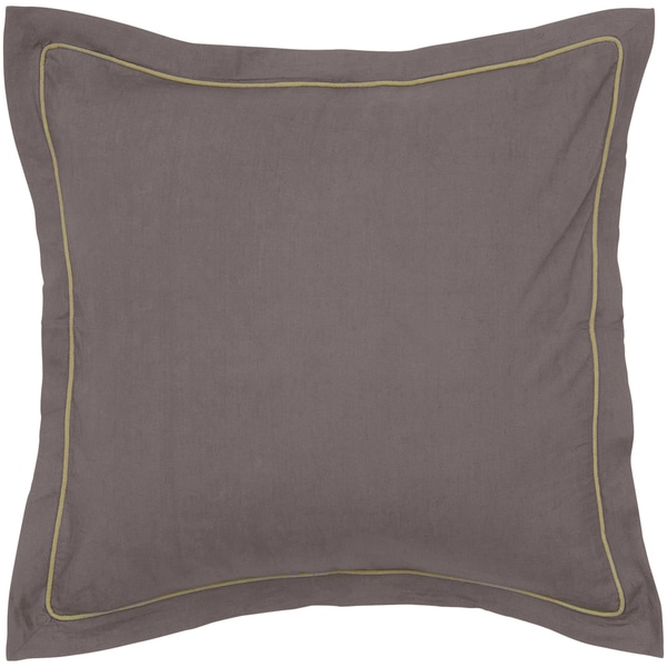 Rizzy Home Brown Euro Sham