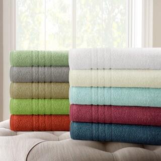 Amraupur Overseas 100-percent Cotton Oversized Bath Sheet (Set of 2)