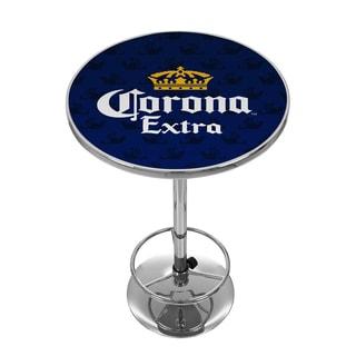 Corona Chrome Pub Table - Griffin