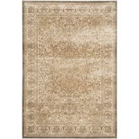 Safavieh Paradise Mouse/ Silver Viscose Rug - 5'1 x 7'6