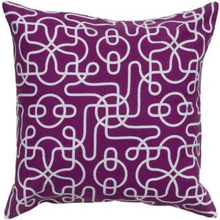 Rizzy Home Fuschia Square Pillow Cover