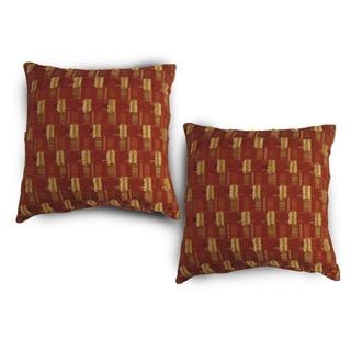 Fil Mini 18-inch Throw Pillow (Set of 2)