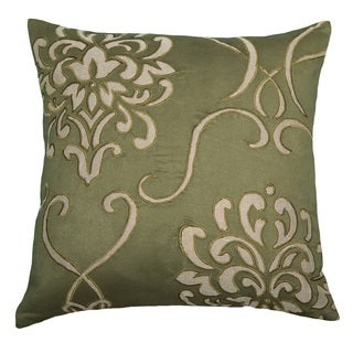 "Rizzy Home 18"" Floral Accent Pillow"