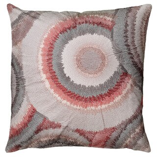 "Rizzy Home 20"" Bullseye Accent Pillow"