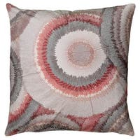 "Rizzy Home 20"" Bullseye Accent Pillow"