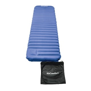 Air Comfort Roll and Go Lightweight Sleeping Pad - Blue