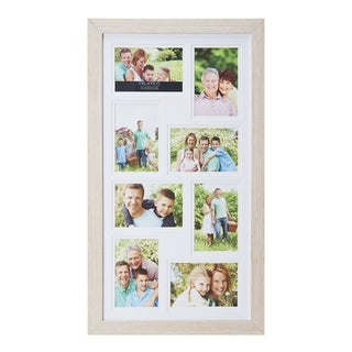 Melannco 15x25-inch 8 Opening Picture Frame