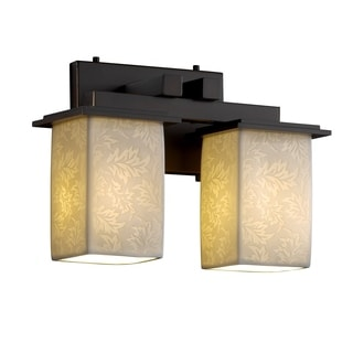Justice Design Group Limoges Montana 2-light Dark Bronze Bath Bar