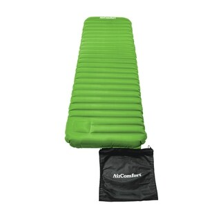 Air Comfort Roll & Go Large Green Inflatable Sleeping Pad