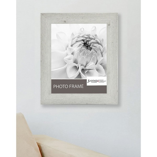 American Made Rayne White Washed Antique Frame