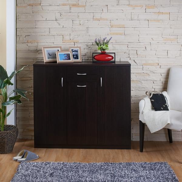 furniture shoe cabinet. furniture of america ekko contemporary espresso 10shelf shoe cabinet free shipping today overstockcom 17559988