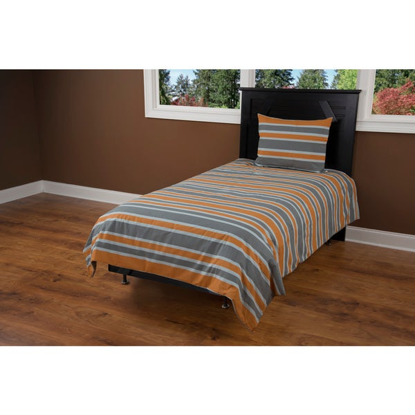 Rizzy Home Grey Comforter Set