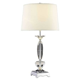 Somette Poise Crystal Table Lamp