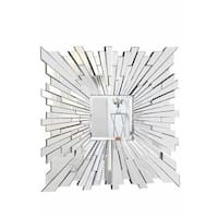 Somette Bristow 47-inch Square Sunburst Mirror