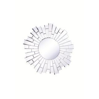 Somette Bristow 23.5-inch Round Sunburst Mirror - Clear
