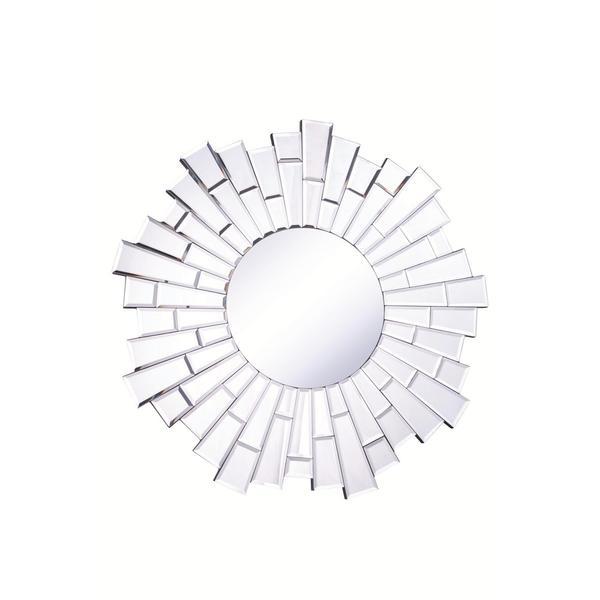 Somette Bristow 32-inch Round Sunburst Mirror