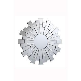 Somette Bristow 35.5-inch Round Sunburst Mirror