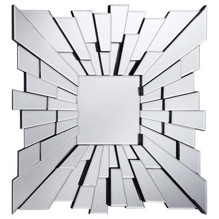 Somette Bristow 35.5-inch Square Sunburst Mirror